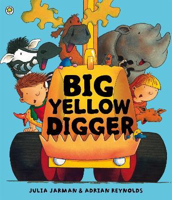 Big Yellow Digger by Adrian Reynolds