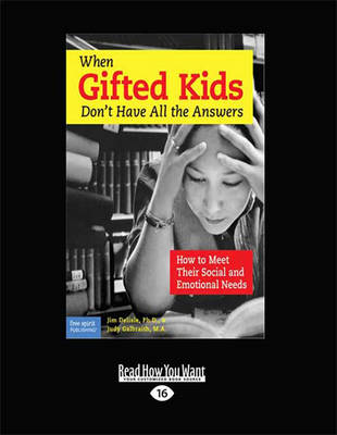 When Gifted Kids Don't Have All the Answers (1 Volumes Set) by Judy Galbraith and Jim Delisle