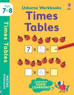 Usborne Workbooks Times Tables 7-8 book