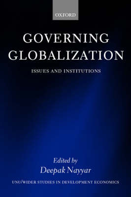 Governing Globalization by Deepak Nayyar