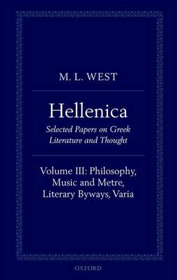 Hellenica by M. L. West