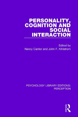 Personality, Cognition and Social Interaction book