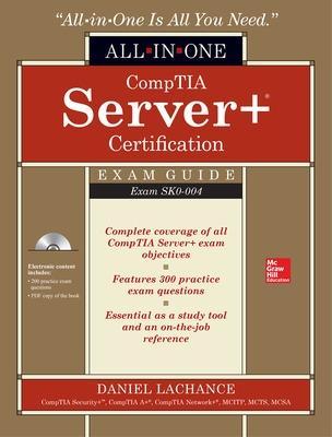 Comptia Server + Certification Eg (Set) by Daniel Lachance