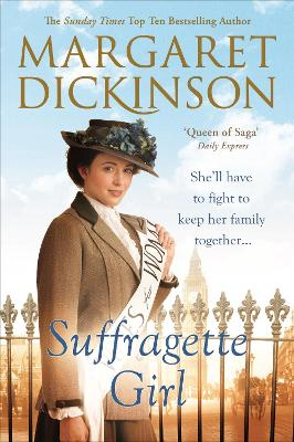 Suffragette Girl by Margaret Dickinson