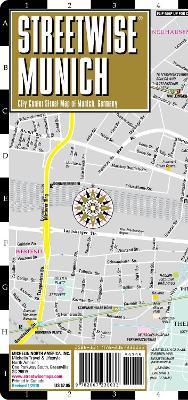 Streetwise Munich Map - Laminated City Center Street Map of Munich, Germany by Michelin