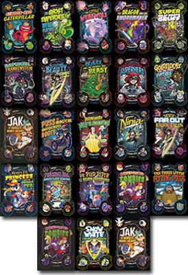 Frankie Fish Set 4 by Peter Helliar