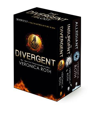 Divergent Trilogy boxed Set (books 1-3) book
