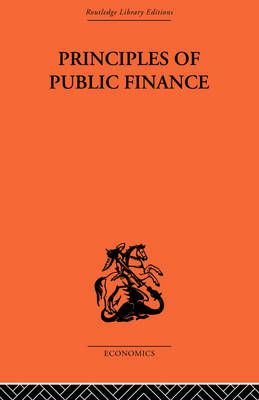 Principles of Public Finance book