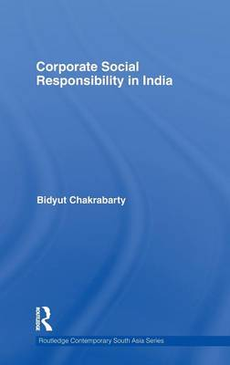 Corporate Social Responsibility in India book