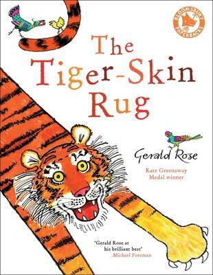 Tiger-Skin Rug by Gerald Rose