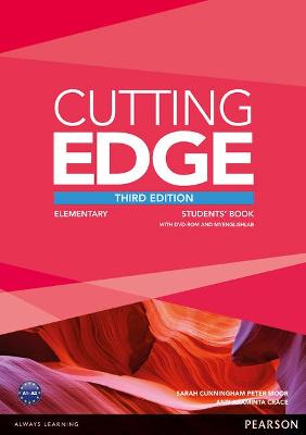 Cutting Edge 3rd Edition Elementary Students' Book with DVD and MyEnglishLab Pack book