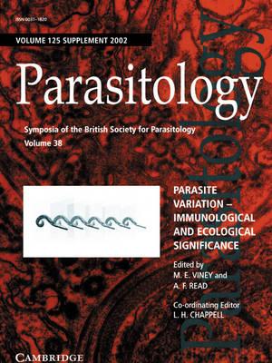 Parasite Variation: Volume 125 by Mark E. Viney