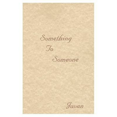 Someone to Love book