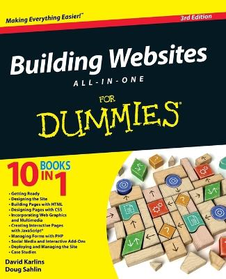 Building Websites All-In-One for Dummies, 3rd Edition by David Karlins