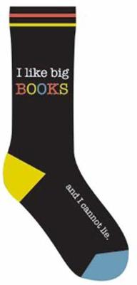 I Like Big Books and I Cannot Lie Socks by Gibbs Smith Publisher