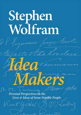 Idea Makers by Stephen Wolfram