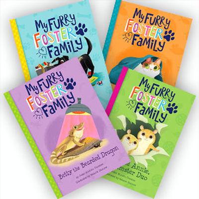 My Furry Foster Family - Set of 4 by Debbie Michiko Florence