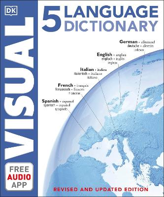 5 Language Visual Dictionary book