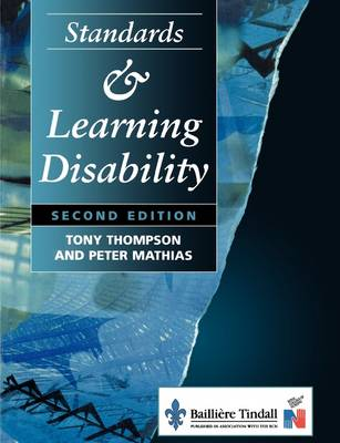 Standards and Learning Disability by Tony Thompson