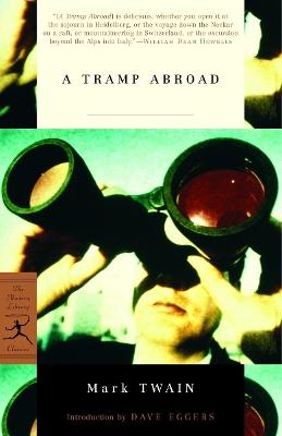 Mod Lib Tramp Abroad, A book
