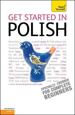 Teach Yourself Get Started in Polish by Joanna Michalak-Gray