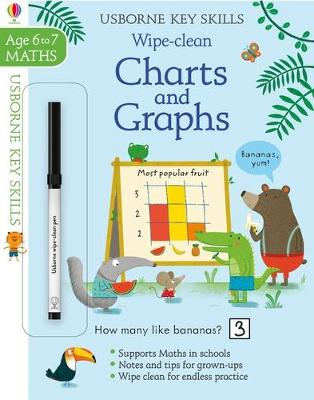 Wipe-Clean Charts & Graphs 6-7 book