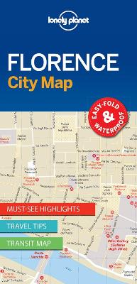 Lonely Planet Florence City Map by Lonely Planet