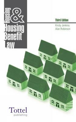 Housing and Housing Benefit Law book