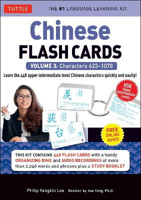 Chinese Flash Cards Kit Volume 3: HSK Upper Intermediate Level (Audio CD Included): Volume 3 by Philip Yungkin Lee