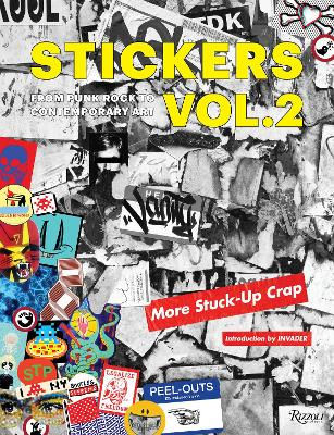 Stickers 2: More Stuck-Up Crap book
