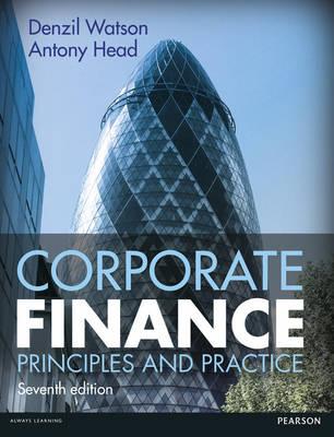 Corporate Finance by Denzil Watson