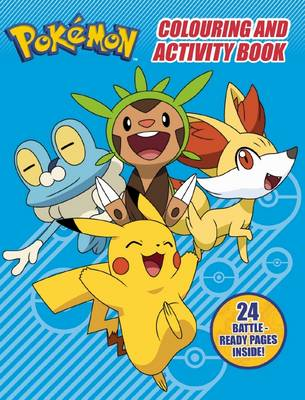 Pokemon Colouring and Activity Book by null