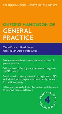 Oxford Handbook of General Practice by Chantal Simon
