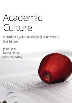 Academic Culture book