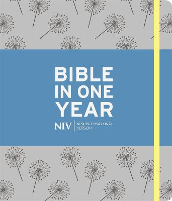 NIV Journalling Bible in One Year: Grey by New International Version