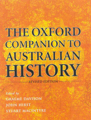 Oxford Companion to Australian History book