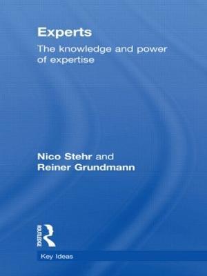 Experts by Reiner Grundmann