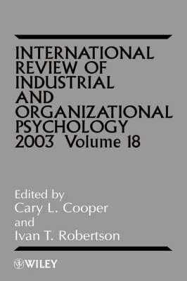International Review of Industrial and Organizational Psychology 2003 book
