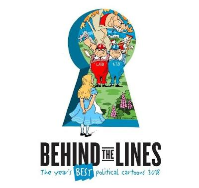 Behind the Lines: The Year's Best Political Cartoons 2018 book