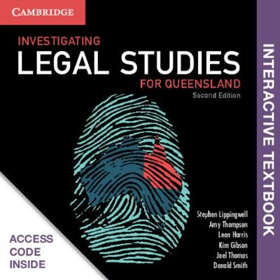Investigating Legal Studies for Queensland Digital (Card) by Stephen Lippingwell