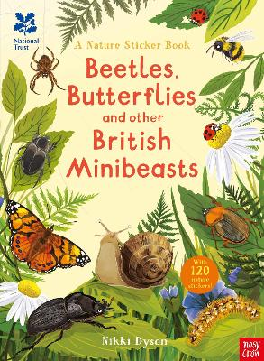 National Trust: Beetles, Butterflies and other British Minibeasts book