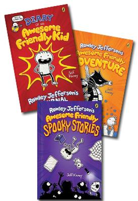 Rowley Jefferson's Awesome Friendly Adventure Set 3 book