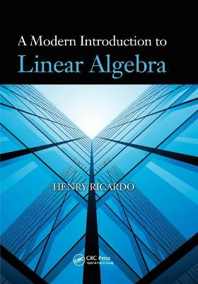 A Modern Introduction to Linear Algebra book