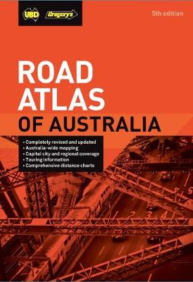 Road Atlas of Australia 5th ed by UBD Gregory's