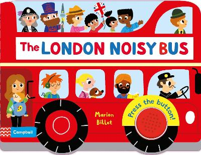 The London Noisy Bus by Marion Billet