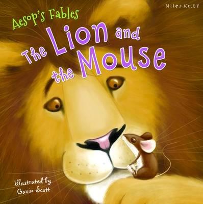 C24 Aesop Lion & The Mouse book