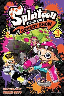 Splatoon: Squid Kids Comedy Show, Vol. 3 book