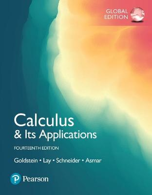 Calculus & Its Applications, Global Edition by Larry Goldstein