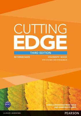 Cutting Edge 3rd Edition Intermediate Students' Book with DVD and MyEnglishLab Pack book