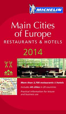 2014 Red Guide Main Cities of Europe book